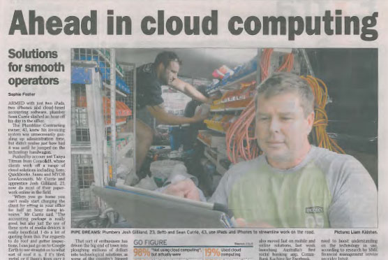 Tanya Titman Consolid8 Courier Mail Article